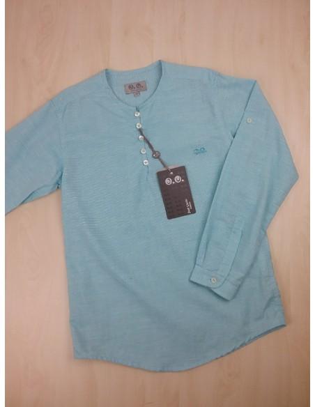 camisa turquesa niño de José Varón