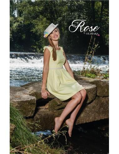 Vestido fiesta de Rose