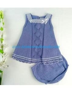 Vestido con braguita de Pili Carrera