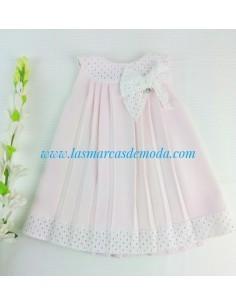 Vestido con braguita rosa de Pili Carrera