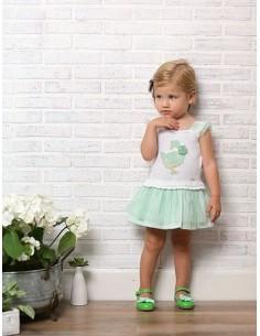 Vestido niña de Foque