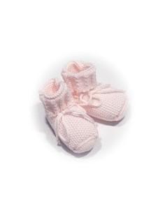 Patucos rosa 100% algodón