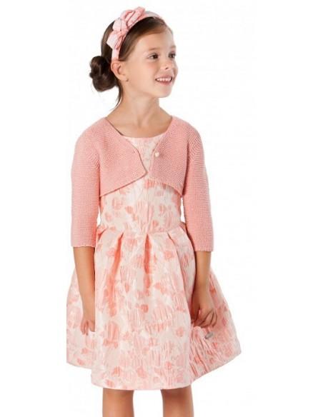 Vestido ceremonia en rosa de Pili Carrera