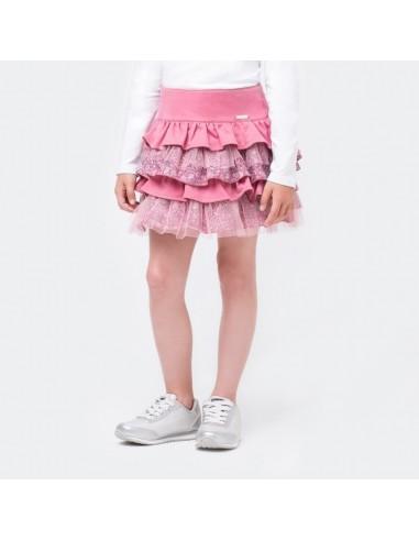 6e470b11e Conguitos falda de niña tul en rosa O/Invierno