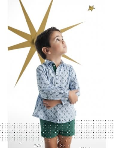 Foque jersey niño verde